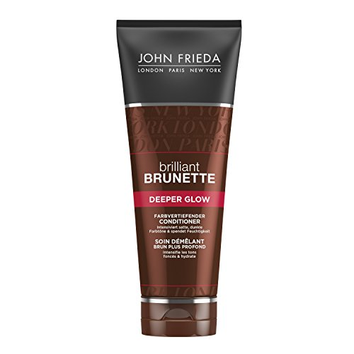 John Frieda Brilliant Brunette Deeper Glow Farbvertiefender Conditioner (1 x 250 ml)