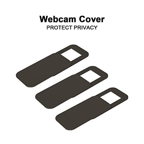 Webcam Cover Camcover T10 Afdekking | Slider | 3 stuks | Frontcamera afdekking voor laptop, PC en tablet | Inkijkbescherming 3-in-1 Set