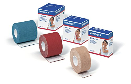 BSN MEDICAL - LEUKOTAPE K NEGRO 5CM X 5M