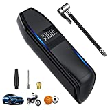 ROXGEAR Portable Car Tire Pump Inflator, 150PSI Air Compressor Pressure Inflator, 6000Mah Rechargeable Battery Cordless Electric Digital LCD Air Tire Pump for Car, Bicycle, Motorcycle, Balls