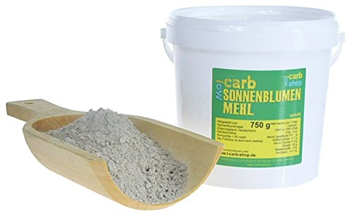 -Carb Sonnenblumenmehl (entölt) 750g