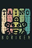 Vintage Sun Boriken Taino Sun Symbol Gift Taino: Notebook Planner - 6x9 inch Daily Planner Journal, To Do List Notebook, Daily Organizer, 114 Pages