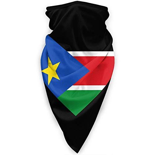 HLw Love South Sudán - Polaina para el cuello con bandera de Sudán del Sur