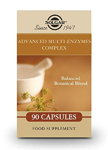 Solgar Advanced Multi-Enzymes Complex - 90 Vegetable Capsules