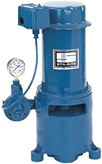 Sta-Rite MSF 1 1/2 H.P. 1/115-220V, Vertical Multi-Stage Deep Well Jet Pump.