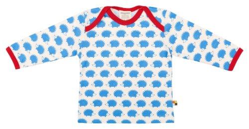 loud + proud Unisex Baby Langarm aus Bio Baumwolle, Gots Zertifiziert Sweatshirt, Blau (Sky Sk), 98-104 EU