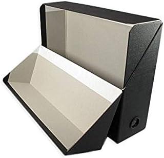 Esselte Boîtes Transfert, 90 mm, A4, Carton 18/10e, Noir, 801672