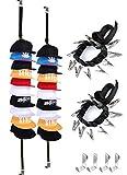 Baseball-Cap-Organizer-Holder-Racks Hat Hanger for Door (2Pcs)