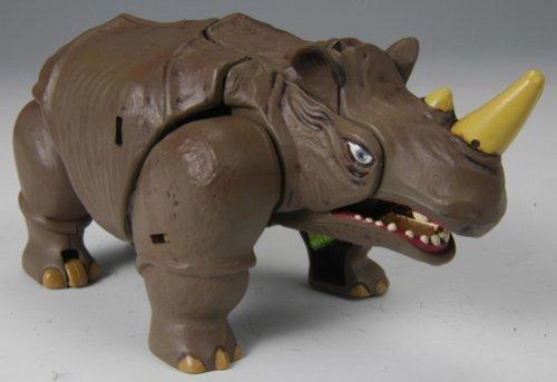 Transformers Takara Japanese Beast Wars 10th Anniversary Rhinox