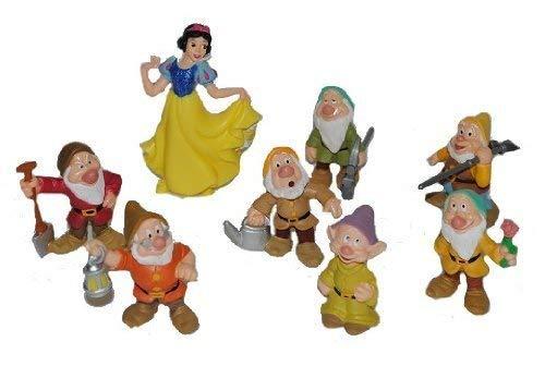 Bullyland Schneewittchen Und Die 7 Zwerge Figuren-Set 8-Teilig