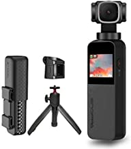 Snoppa Vmate Handheld 3-Axis Gimbal Camera with 4k HD Camera, 90 ° Rotation Lens and 1/2.3-Inch Sensor, 220min Runtime, WiFi Connect,Built-in Mic & Bluetooth Mic ,includ Telescopic Tripod and Base
