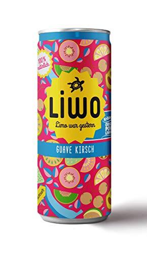 Liwonade Guave Kirsch 24 x 0,33 Liter inkl. 6 € DPG EINWEG Pfand