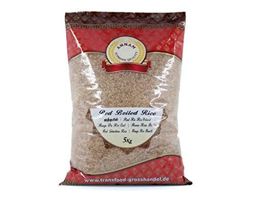 Annam Red Parboiled Matta Rice Rot Gekochte Reis Riz - 5kg