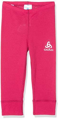 Odlo BL Bottom Long Active Warm Kids Pantalon Mixte Enfant, Cerise, FR : L (Taille Fabricant : 152)