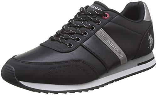 U.S. POLO ASSN. VANCE1, Sneaker Uomo, (Nero (Blk 002), 42 EU