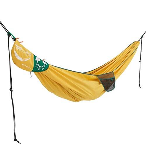 QUECHUA Camping-Hängematte Comfort 280 x 175 cm - 2 Personen gelb