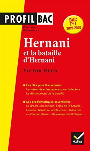 Profil - Victor Hugo, Hernani