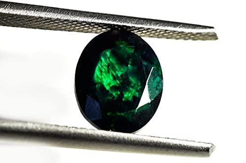 HIMALYA QUARTZ Ópalo etíope natural de 1,5 quilates AAA grado negro piedra semipreciosa ópalo EPB 358