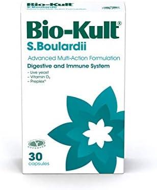 Bio Kult S Boulardii Probiotic Capsules Saccharomyces Boulardii Yeast Vitamin D3 Immune Support product image