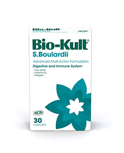 Bio-Kult S. Boulardii - Saccharomyces Yeast - Vitamin D3 - contributes to The Immune System