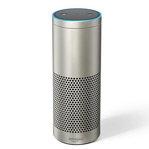 Produktbild von Echo Plus (Vorherige Generation - 1. Gen.), Zertifiziert und generalüberholt, - Mit integriertem Smart Home-Hub (Silber)