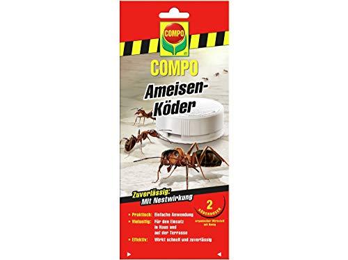 COMPO Ameisen-Köder 2 Dosen, Granulatköder, Ungezieferschutz