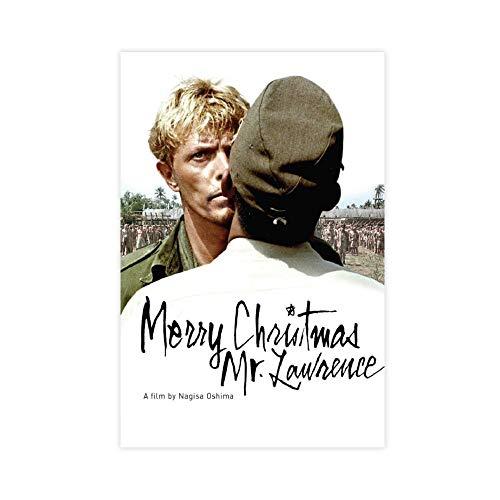 Póster de película Feliz Navidad Mr. Lawrence Lienzo decorativo para dormitorio, paisaje, oficina, decoración de habitación, regalo, 60 x 90 cm, estilo Unframe-1