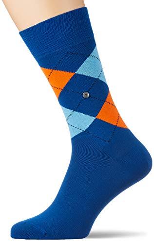 Burlington Herren King M SO Socken,blau (petrol blue 6493), 40-46