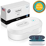 UV Phone Sanitizer | MOVIC Portable Fast Germ Sterilizer & UVC Light Disinfectant Cell Phone, Jewelry, Credit Cards, Keys, Glasses, Accessories | Kills Up to 99.9% of Bacteria & Viruses