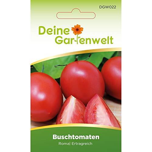 Buschtomate Roma VF Tomatensamen | Samen für Tomaten | Fleischtomate | Buschtomatensamen | Saatgut für Fleischtomaten