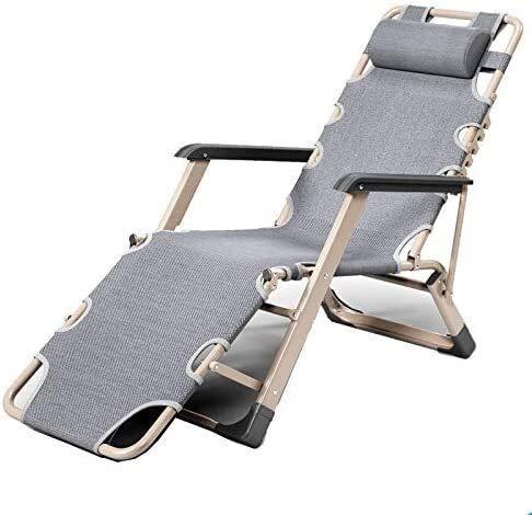 Sedia da ufficio Vita Zero Gravity Sedia pieghevole reclinabile con cuscino Paddock Sedia pieghevole reclinabile da pranzo all'aperto regolabile per terrazza Terrazza Terrazza sulla spiaggia Lettin