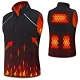Vinmori USB Electric Heated Vest Size Adjustable Heated Clothing For Men Women