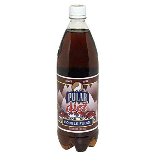 Polar Double Fudge 1 Liter Plastic Bottles  Pack of 12
