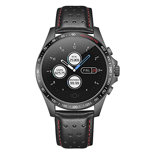 SEART Smart Watch Herren Jungen, Fitness Tracker IP67 Wasserdichte Sportuhr mit Herzfrequenzmesser, Schlafmonitor Aktivitätsmesser, Schrittzähler Kalorienzähler, Schwarze Bluetooth Smartwatch Armba