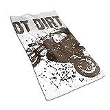 XCNGG Got Dirt Bike Motorcross Racing Toallas de Mano Toallas faciales Suaves absorbentes Toallas de baño Decorativas Grandes Multiusos para baño Cocina Gimnasio Yoga 27.5 x 15.7 Pulgadas
