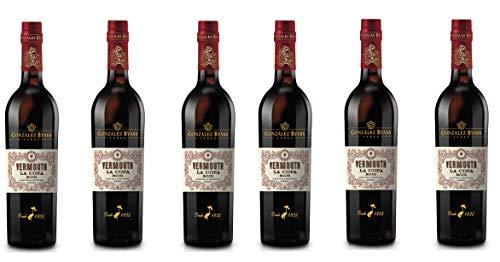 Vermouth La Copa Rojo - D.O. Jerez - 6 x 750 ml...