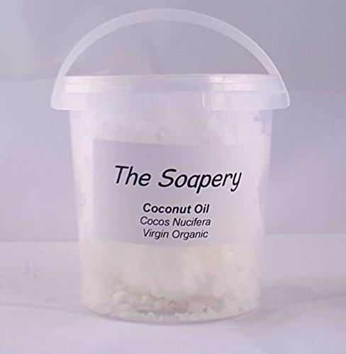 Huile de noix de coco extra-vierge 1 kg pure bio pressée à Froid