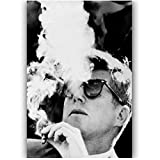 WTHKL Neue JFK John F Kennedy Leinwand Malerei Poster