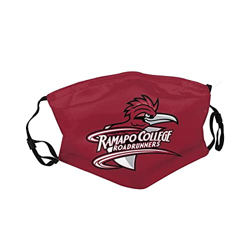 Ramapo College of New Jersey University Face Mask Unisex Adjustable Reusable Double-Sided Adult dust mask for Women and Men Black