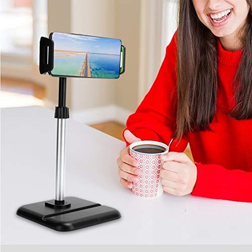 SHYEKYO Soporte para Tableta con Soporte para teléfono con elevación y rotación de 360 Grados para transmisión en Vivo para Tableta