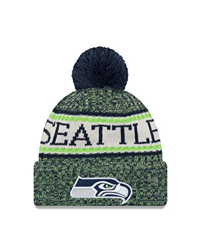 New Era Seattle Seahawks NFL 2018 On Field Sport Knit Multi-coulored,One Size