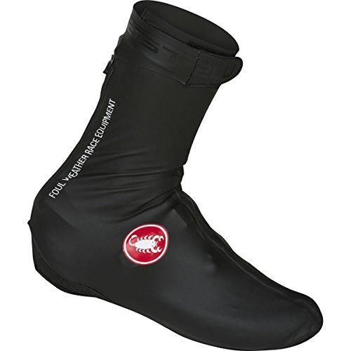 Castelli Pioggia 3 Shoecover, Copriscarpe Ciclismo Unisex – Adulto, Black, M