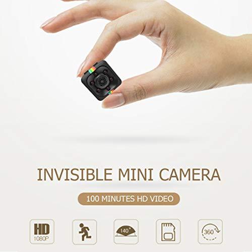 Versteckte Kamera des Spions-1080P, Minispion-Kamera mit IR-Nachtsicht und Bewegungserkennungs-Aktionskamera, versteckte Sicherheitsspion-Kamera