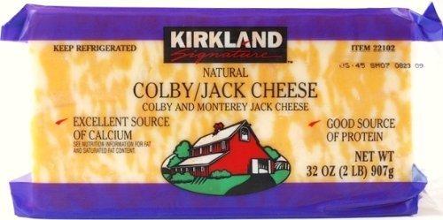 KIRKLAND コルビージャックチーズ 907g×2個セット Colby/jack Cheese 要冷蔵