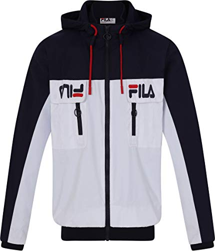 Fila Murray lichtgewicht ski jas met capuchon Navy - verschillende maten