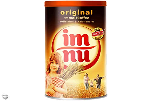 2er Pack Im Nu Original, Malzkaffee koffeinfrei und kalorienarm, 2 x 200 g, Instantkaffee, Instantpulver, Kaffee, Kaffeepulver, Kinderkaffee, DDR, muckefuck