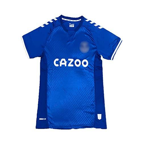 DIWEI 2020-21 Evěrtǒn Football Jersey, Evěrtǒn Unǐtěd Home/Away Retro Ropa Deportiva De Fútbol Transpirable, Fans Camiseta De Fútbol para Adultos Jóvenes Hombres Camiset Blue-S