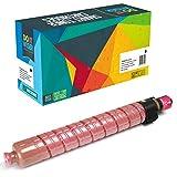 Do it Wiser Cartucho de Tóner Compatible para Ricoh Aficio MP C305 MP C305SP MP C305SPF 851596 (Magenta)