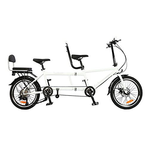 Vélo Tandem - Vélo Pliant en Tandem de Ville, vélo...