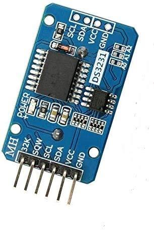 ARCELI Tiny DS3231 Módulo AT24C32 I2C Módulo de Reloj de precisión en Tiempo Real para Arduino